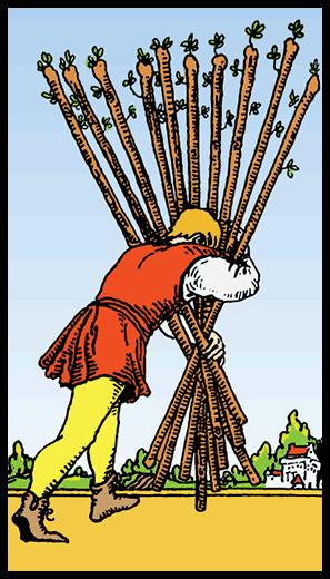 Asaların Onlusu - Tarot Kartı