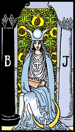 Azize - Tarot Kartı
